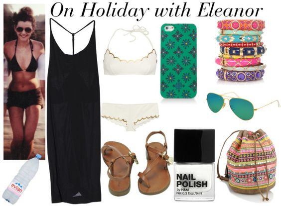 """On Holiday with Eleanor"" by wtf-towear ❤ liked on Polyvore"