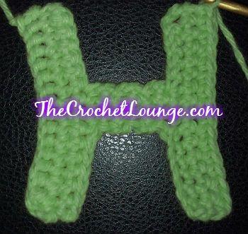 Free Crochet Pattern For The Letter O : Crochet alphabet, Free crochet and Alphabet on Pinterest