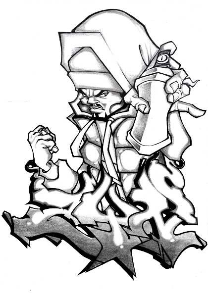 Hip Hop Graffiti Characters Posted In Art Interviews