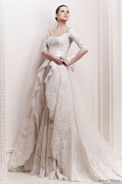 Just stunning    Shabby Chic Wedding Dress