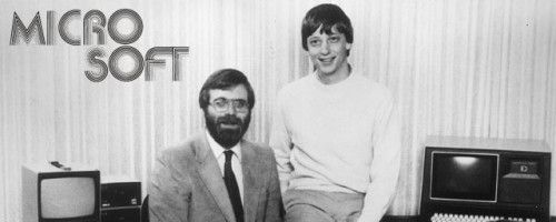 Image result for paul allen and bill gates 1975