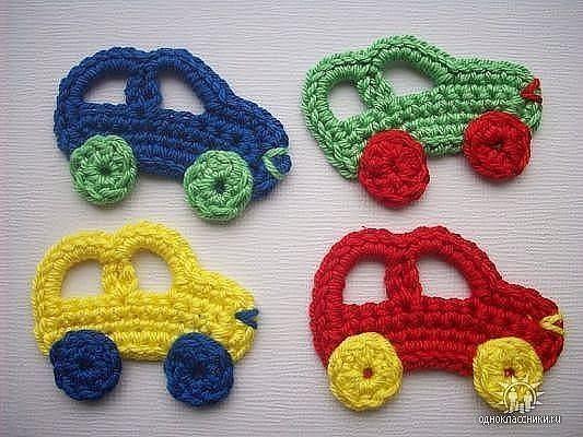 carro croche - Pesquisa Google