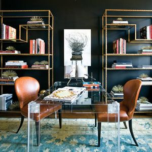 Feeling Moody? Then You'll Love These Interior Colors: Black Satin