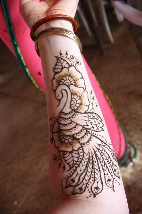 Mehndi For God : Henna peacock god this is awesome for a tattoo ryan