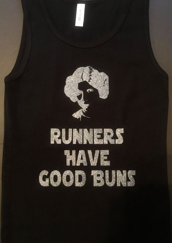 Runners Have Good Buns Shirt by ShellyRioBoutique on Etsy