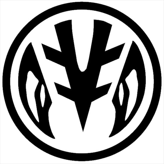 White ranger power coin symbol. Going to get this on my sternum ...