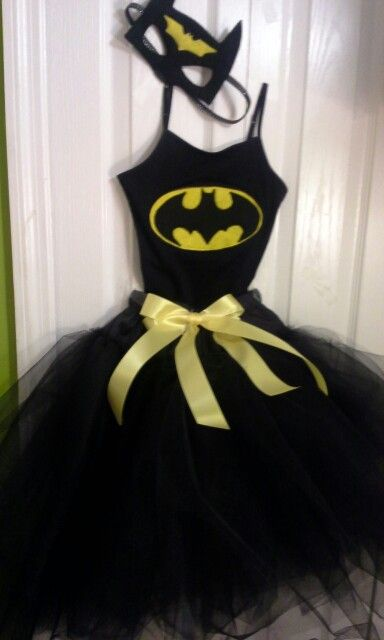 Diy batgirl costume with tutu - photo#9