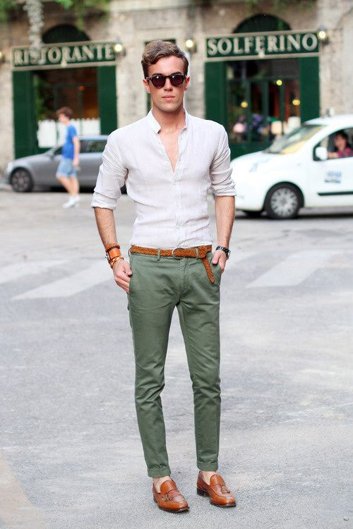 The 25  best Green pants men ideas on Pinterest | Night pants for ...
