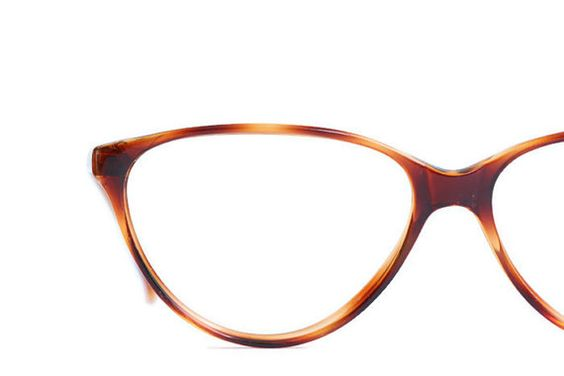 Cat eye Frauen Brille Tiger Gold Vintage Frauen von ClassicalSense