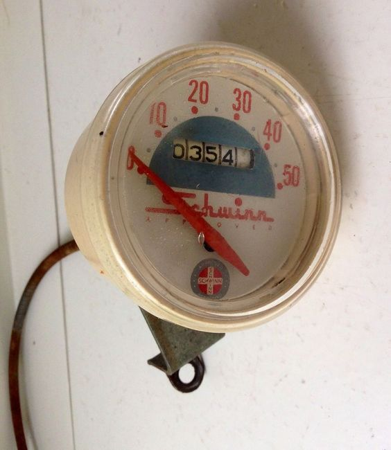 Vintage Schwinn Bike Speedometer Stingray Corvette Racer Typhoon