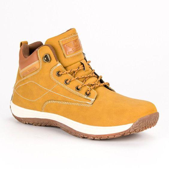 Trekkingowe Meskie Arrigobello Arrigo Bello Zolte Casualowe Obuwie Meskie High Top Sneakers Sneakers Shoes