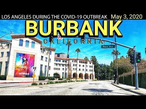 Drive Los Angeles Burbank California May 3 2020 Ambient Music Waze Map Live Tracking Yout Cities In Los Angeles Burbank California Los Angeles City