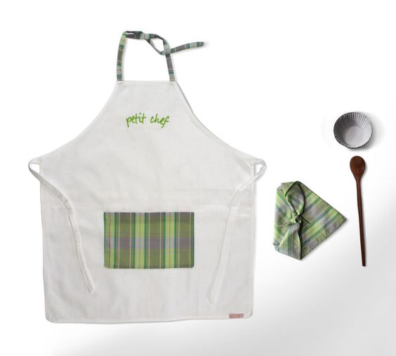 Avental Petit Chef Listrado