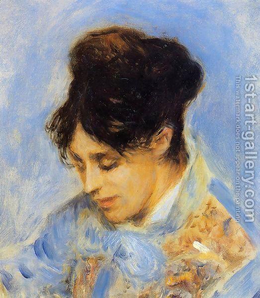 Portrait Of Madame Claude Monet by Pierre Auguste Renoir