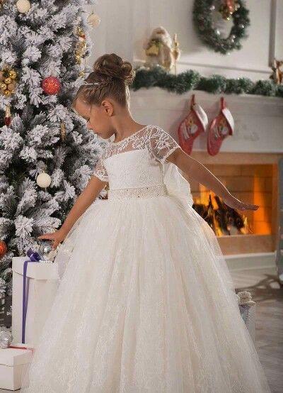 #vestidoniña #elegante #niñas #hermoso #glamour