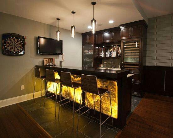 Labeled In Home Bar Setup Ideas Cabinets For Bars In Basements Wooden Bar Top This Appealing Furnitu Huisbar Ontwerpen Home Decor Keuken Kelder Bar Ontwerpen