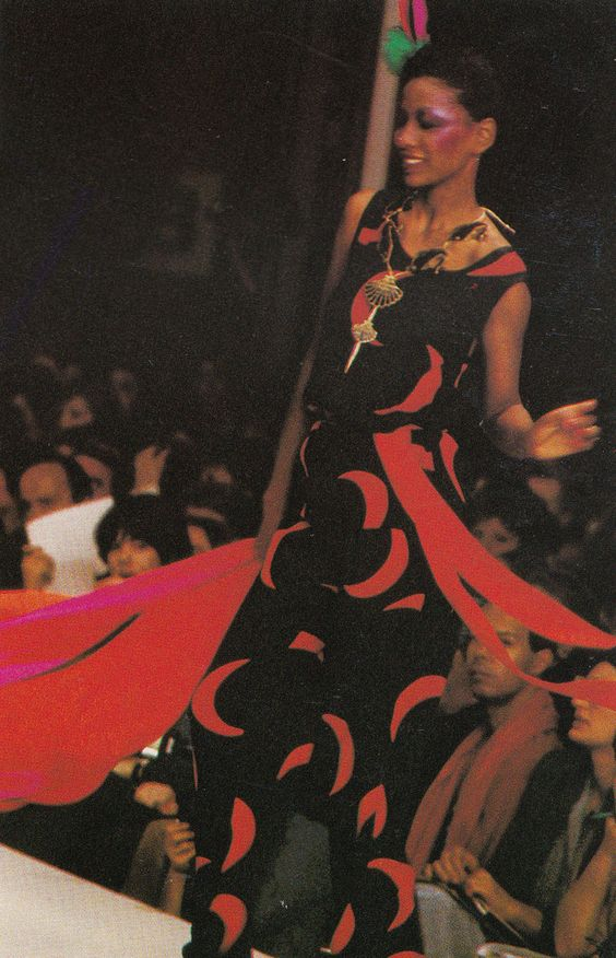 YSL Runway, Moda In - December 1978, Photographed by Claus Ohmn