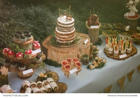 How To Throw A Wild & Free Kids Forest Party| Photo by Wynand van der Merwe Photography