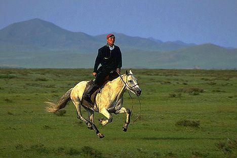 1.) Mongol horsemanship