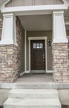 Front Door Craftsman Exterior Craftsman Exterior Salt Lake City Home Pinterest