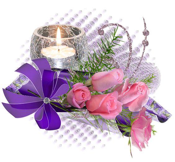 rózsaszín  rózsák lila dí: