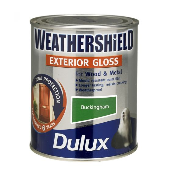 Funky front door colour? Dulux Weathershield Exterior Gloss Paint Buckingham 750ml
