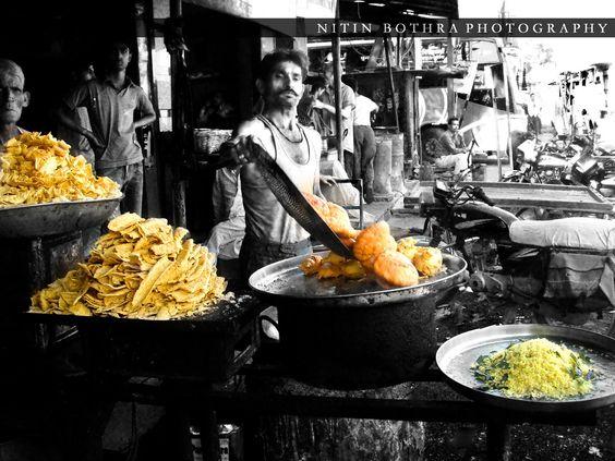 Nitin Bothra | Photography: Delicious Indian Street Food.