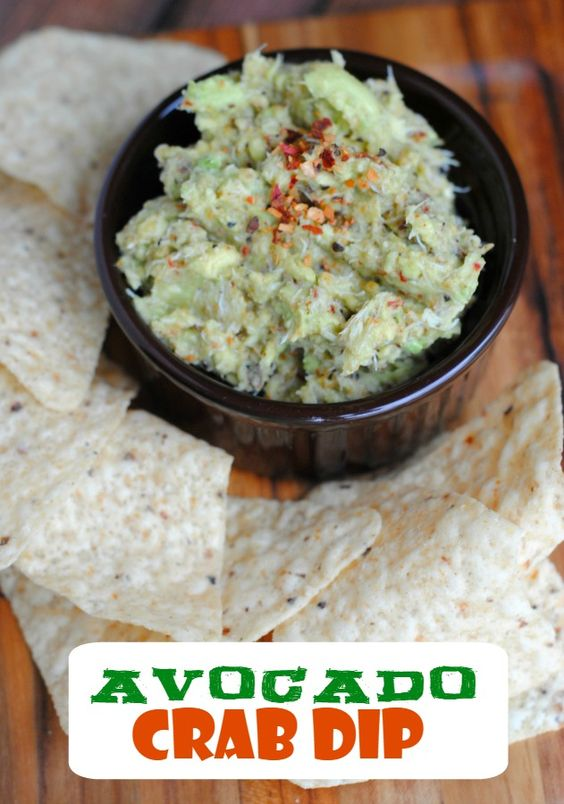 Avocado crab dip recipe- just a few ingredients for an amazing dip