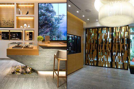 Audemars Piguet store, Bal Harbour Florida store design Стены - design juwelierladen relojeria alemana