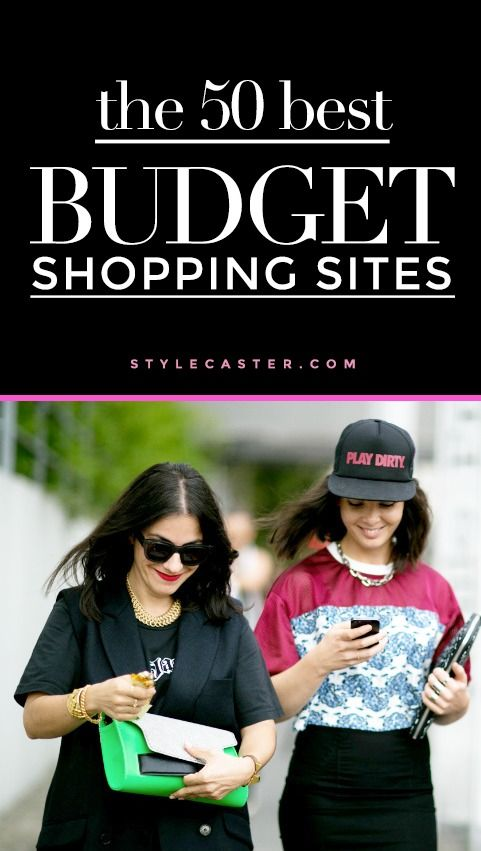 Looking for affordable online shops like Zara? Check out this amazing list: the 50 best shopping sites for the girl on a budget. | StyleCaster