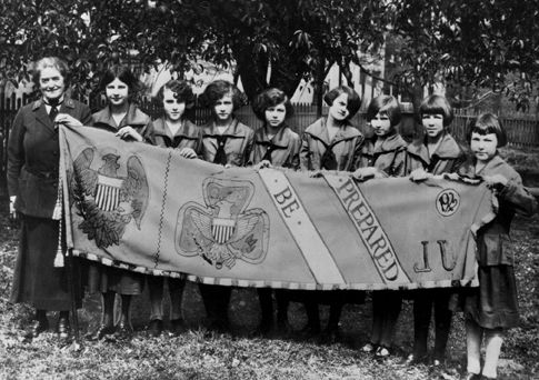 """Some of the nation's first Girl Scouts are featured in the exhibit """"A Circle of Friendship United by Ideals"""" at the Delaware History Museum.  Check it out and celebrate the centennial of girl scouting in the U.S."""