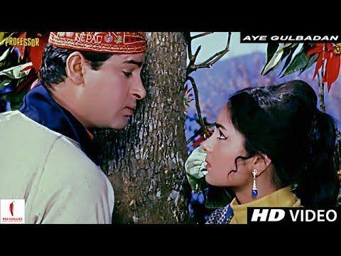 Aye Gulbadan Aye Gulbadan Mohammad Rafi Professor Full Song Hd S Old Bollywood Songs Shammi Kapoor Bollywood Songs