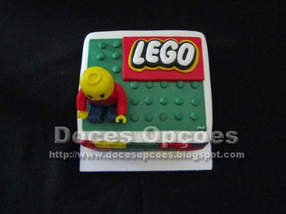 Doces Opções: Bolo Lego