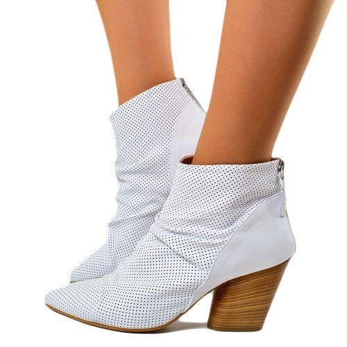 Stivali indianini donna stivaletti bassi eco pelle scarpe