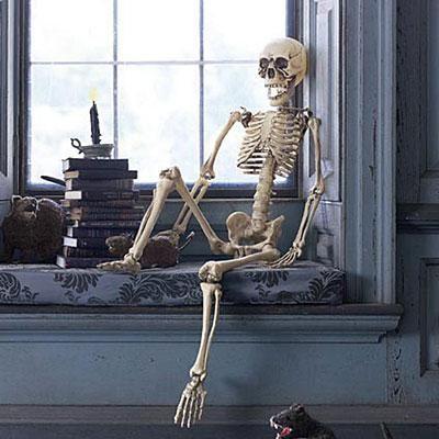 Halloween decorations: Spooky Skeletons