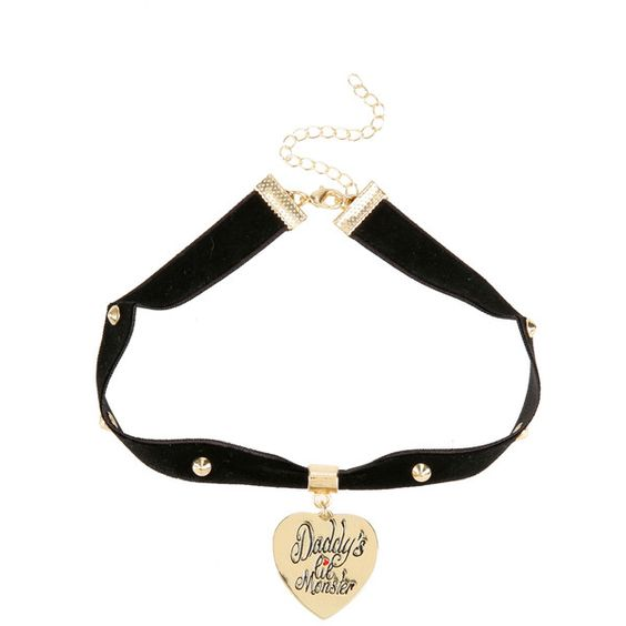 DC Comics Suicide Squad Harley Quinn Choker ($13) ❤ liked on Polyvore featuring jewelry, necklaces, multi, choker necklace, choker jewelry, heart jewelry, heart charm necklace and heart necklace
