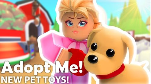 Check Out Pet Toys Adopt Me It S One Of The Millions Of