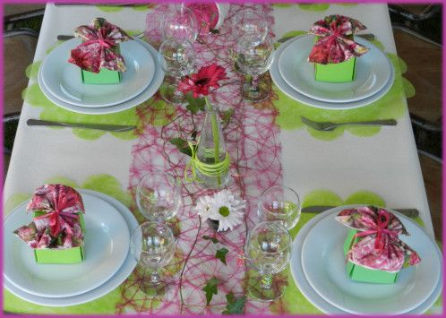 Garden party 16 jpg 498 355 deco tables pinterest - Idee de decoration de table pour anniversaire ...