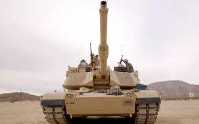 Обои танк, солдаты, экипаж, гусеницы
