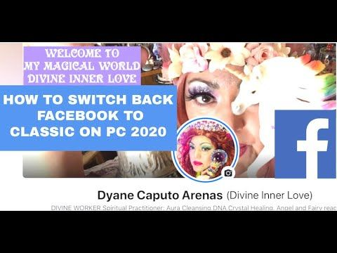How To Switch Back To Classic Facebook On Pc 2020 Facebook Switch Cl In 2020 Youtube I School Switch