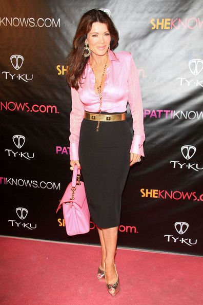 "Lisa Vanderpump Photos: ""Real Housewives of Orange County"" star Alexis Bellino at a birthday event for Patti Stanger at Koi in West Hollywood"