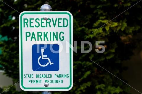 Reserved Handicapped Permit Parking Only Sign Stock Photos Ad Permit Handicapped Reserved Parkin Professional Business Cards Templates Stock Photos Handicap
