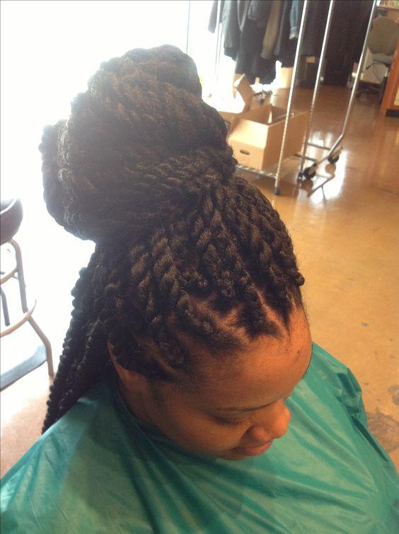 Havana twist/Marley braids