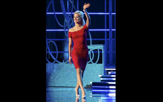 Miss America 2013 | Out + About Features | The Best of the Twin Cities | Mpls.St..Paul Magazine: Siri on stage for preliminariy on-stage question portion of competition.