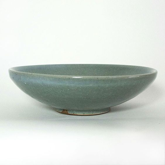 Svend Bayer Large Celadon Bowl | Maud and Mabel