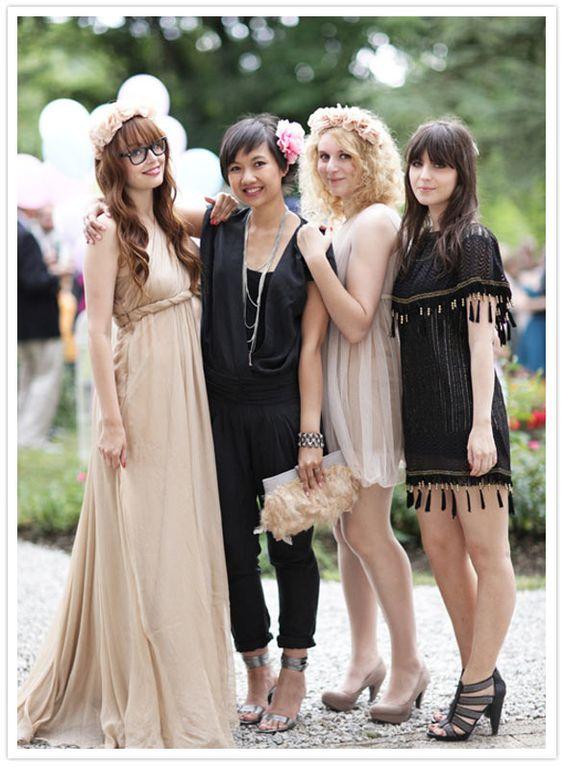 Flirty wedding fashion: Wedding Guest, Bridesmaid Style, Wedding Ideas, Bridesmaid Dresses, Bridesmaids Style, Color Wedding Dresses, Casual Bridesmaid