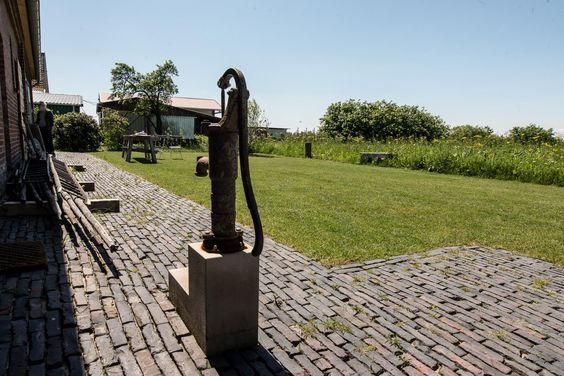sommer, garten, pumpe, wasserpumpe, handpumpe, antik, historisch, pflastersteine, weitblick. www.welle8.com #Sommer #Wasserpumpe #Handpumpe