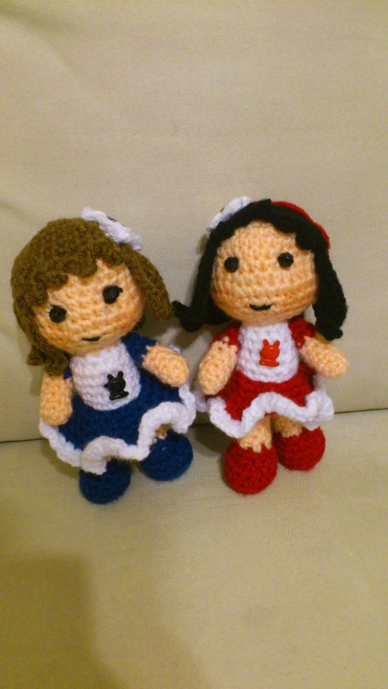 Amigurumi Girl Tutorial : Amigurumi Girl - FREE Crochet Pattern / Tutorial FREE ...