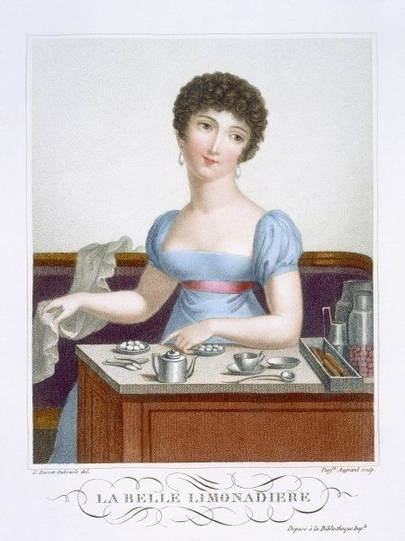 The beautiful Lemonade Maker, c.1816 by Madame G. Busset-Dubruste: