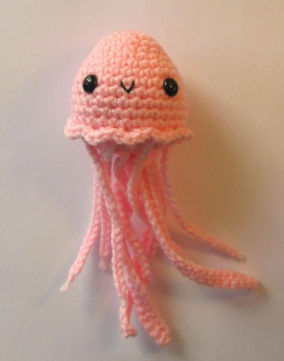 Amigurumi Baby Jellyfish